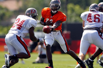 Josh Johnson Tampa Bay Buccaneers Training Camp