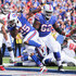 Lesean Mccoy Photos - LeSean McCoy #25 of the Buffalo Bills scores a touchdown during the second quarter of an NFL game against the Tampa Bay Buccaneers on October 22, 2017 at New Era Field in Orchard Park, New York. - Tampa Bay Buccaneers vBuffalo Bills