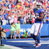 Lesean Mccoy Photos - LeSean McCoy #25 of the Buffalo Bills smiles after scoring a touchdown in the second quarter of an NFL game against the Tampa Bay Buccaneers on October 22, 2017 at New Era Field in Orchard Park, New York. - Tampa Bay Buccaneers vBuffalo Bills