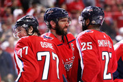 Alex Ovechkin and T.J. Oshie Photos Photo