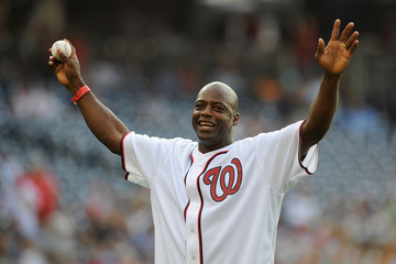 Darrell Green Tampa Bay Rays v Washington Nationals