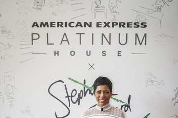 Tamron Hall American Express Platinum House x Stephanie Izard at the FOOD & WINE Classic