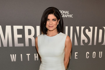 Tamsen Fadal National Geographic's 'America Inside Out With Katie Couric' Premiere Screening In NYC