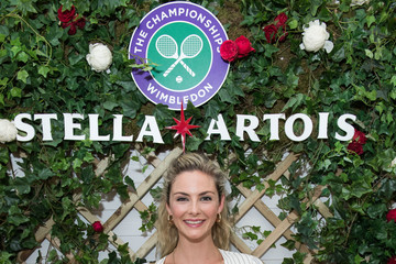 Tamsin Egerton A Day At The Championships, Wimbledon With Stella Artois