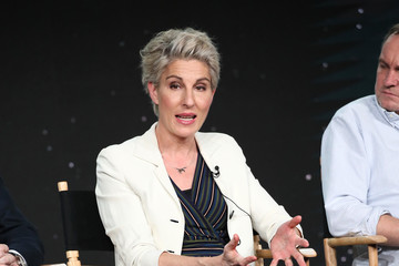 Tamsin Greig 2020 Winter TCA Tour - Day 12