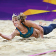Tamsin Hinchley Olympics Day 3 - Beach Volleyball