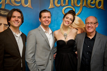 Glen Keane Tangled - UK Film Premiere