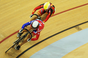 Tania Calvo Barbero UCI Track Cycling World Cup - Glasgow: Day Two
