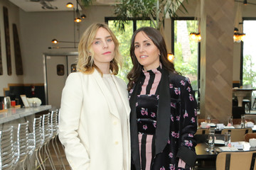 Tania Fares Aleque Calvert Norah Restaurant Hosts CFDA Fashion Trust 'A Toast To Stylists' Pre-Oscar Brunch Hosted By British Vogue's Tania Fares
