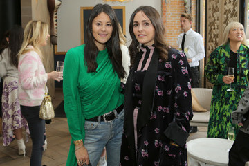 Tania Fares Dani Michelle Norah Restaurant Hosts CFDA Fashion Trust 'A Toast To Stylists' Pre-Oscar Brunch Hosted By British Vogue's Tania Fares