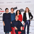 Tanya Seghatchian Best Debut And Second Film Award Jury Photocall - The 7th Rome Film Festival