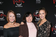 (L-R) Deborah Gerber, Irmtraud Gerber und Alena Gerber attend the red carpet at the premiere of the musical 'Tanz der Vampire' at Stage Palladium Theater on January 26, 2017 in Stuttgart, Germany.