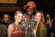 """(L-R) Kristen Kenney, Venance Ndibalema and actress Sharon Lawrence attend the afterparty of the premiere of """"Tanzania: A Journey Within"""" benefiting Malaria No More on May 2, 2014 in North Hollywood, California."""