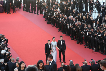 Tao Zhao 'Ash Is The Purest White (Jiang Hu Er Nv)' Red Carpet Arrivals - The 71st Annual Cannes Film Festival
