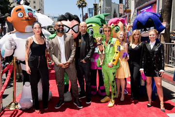 Tara Strong Los Angeles Premiere Of Warner Bros. Animations' 'Teen Titans Go! To The Movies' - Red Carpet