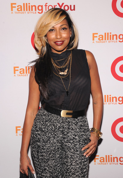 "Singer Melanie Fiona attends the Target ""Falling for You"" NY event at Terminal 5 on October 10, 2012 in New York City."