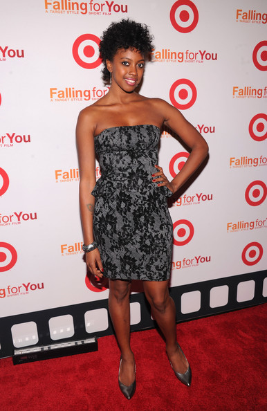 "Actress Condola Rashad attends the Target ""Falling for You"" NY event at Terminal 5 on October 10, 2012 in New York City."