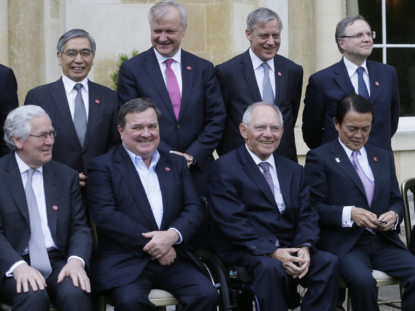 G7 Finance Ministers' Meeting Held in England