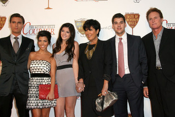 Kris Jenner Scott Disick Taste Of Beverly Hills Wine & Food Festival - Opening Night - Red Carpet