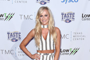 WWE Superstar Danielle Moinet attends the Taste Of The NFL 'Party With A Purpose' at Houston University on February 4, 2017 in Houston. at University of Houston on February 4, 2017 in Houston, Texas.