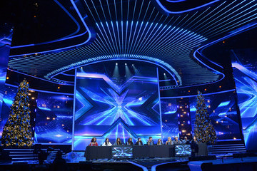 """Tate Stevens Cary Rose Sonenclar Fox's """"The X Factor"""" Season Finale News Conference"""