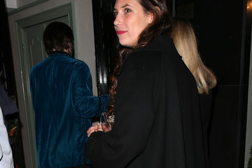Tatiana Santo Domingo Sightings at Daphne's Restaurant During London Fashion Week