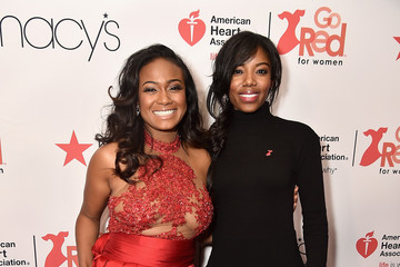 Tatyana Ali The American Heart Association's Go Red For Women Red Dress Collection 2018 Presented By Macy's - Arrivals & Front Row