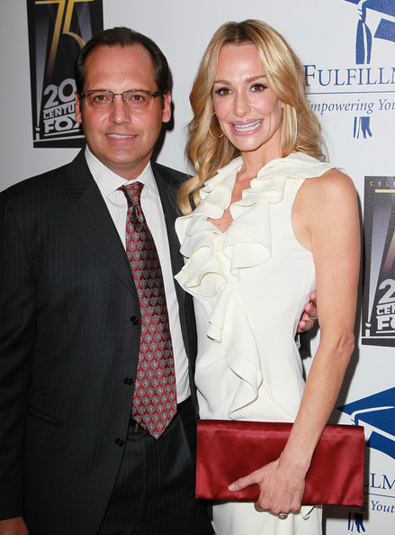 Taylor Armstrong TV personality Taylor Armstrong (R) and husband Russell Armstrong attend the Annual STARS 2010 Benefit Gala at the Beverly Hilton Hotel on November 1, 2010 in Beverly Hills, California.