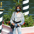 Taylor Hill Celebrity Excelsior Arrivals During The 77th Venice Film Festival - Day 1