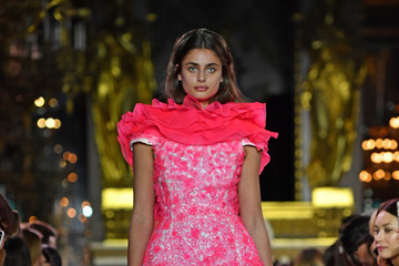 Taylor Marie Hill Schiaparelli: Runway - Paris Fashion Week - Haute Couture Spring Summer 2019