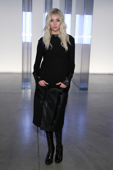 Taylor Momsen - Helmut Lang - Front Row - Mercedes-Benz Fashion Week Spring 2014