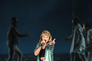 Taylor Swift Performs at 'The 1989 World Tour Live' in Boston