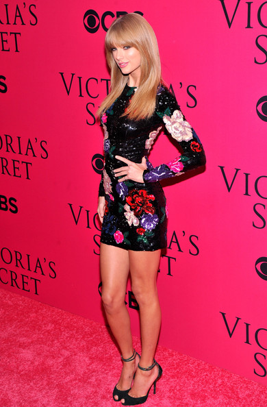 Taylor Swift Taylor Swift attends the 2013 Victoria's Secret Fashion Show at Lexington Avenue Armory on November 13, 2013 in New York City.