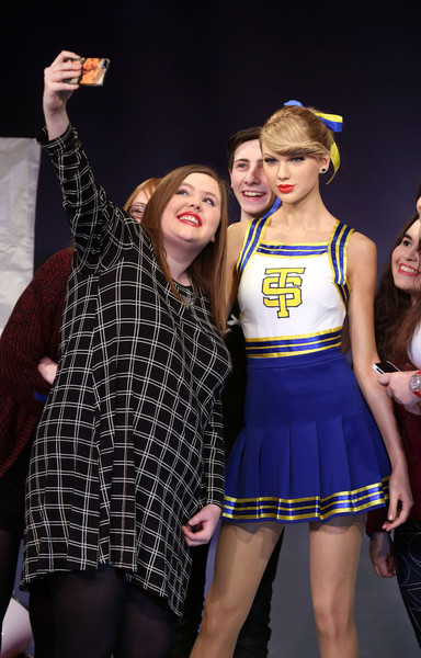 Madame Tussauds Unveil Taylor Swift Wax Figure [madame tussauds,taylor swift,wax figure,wax figure,fashion,performance,youth,event,fashion design,performing arts,dance,costume,talent show,competition,london,england]