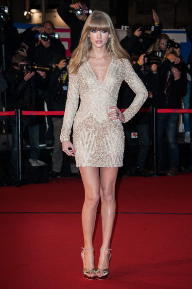 Taylor Swift - NRJ Music Awards 2013 - Red Carpet Arrivals