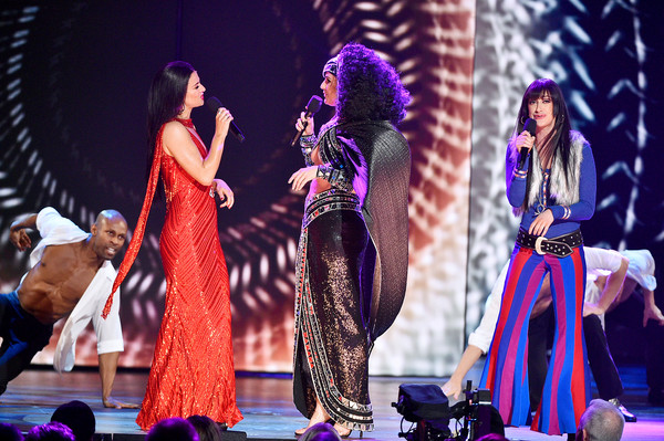 73rd Annual Tony Awards - Show [the cher show,performance,entertainment,performing arts,event,stage,performance art,public event,fashion,musical theatre,dance,cast,new york city,radio city music hall,tony awards,show]