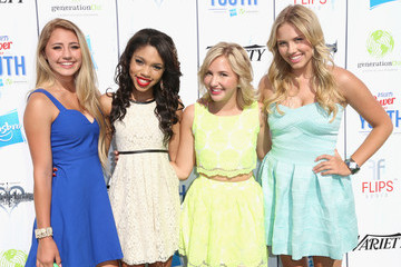 Teala Dunn Lia Marie Johnson Variety's Power Of Youth Presented By Hasbro And GenerationOn - Arrivals
