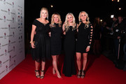 Katie Summerhayes, Jenny Jones, Katie Ormerod and Aimee Fuller attend the Team GB Ball at Victoria and Albert Museum on November 1, 2017 in London, England.