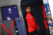 Eve Muirhead poses during the Team GB Kitting Out Ahead Of Pyeongchang 2018 Winter Olympic Gamesast Adidas headquarters on January 24, 2018 in Stockport, England.