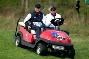 Ted Bishop Morning Fourballs - 2014 Ryder Cup