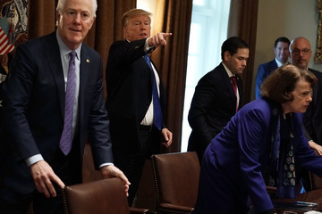 Ted Deutch President Trump Holds Meeting With Bipartisan Congress Members To Discuss School Safety