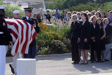 Kara Kennedy Ted Kennedy Lies In Repose At Kennedy Presidential Library