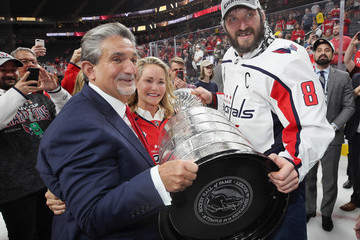 Ted Leonsis 2018 NHL Stanley Cup Final - Game Five