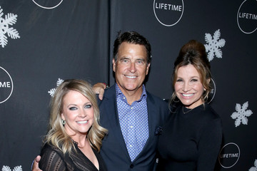 """Ted McGinley The Stars of """"It's a Wonderful Lifetime"""" Celebrate the Season at First Holiday Party of the Year"""
