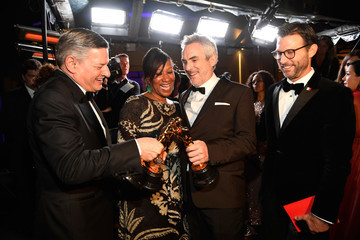 Ted Sarandos Nicole Avant 91st Annual Academy Awards - Governors Ball
