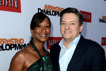 Ted Sarandos Nicole Avant 'Arrested Development' Premieres in Hollywood 2