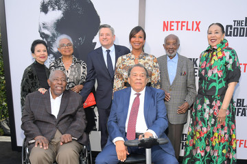 Ted Sarandos Nicole Avant Netflix World Premiere Of 'The Black Godfather'