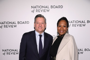 Ted Sarandos Nicole Avant The National Board Of Review Annual Awards Gala - Arrivals