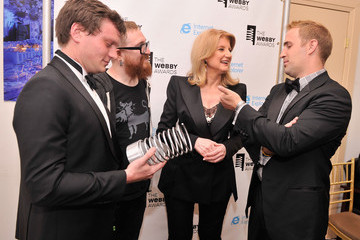 Teddy Goff Backstage at the 17th Annual Webby Awards
