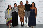 [Editor's Note: image has been retouched] Julie Tong, Nadia Boujarwah, Lizzo, Venus Williams, and Tracy Reese attend #TeeUpChange Campaign Launch Hosted By Dia&Co and CFDA at theCURVYcon on September 7, 2018 in New York City.